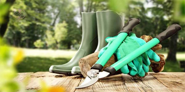 آشنایی با ابزار باغبانی
